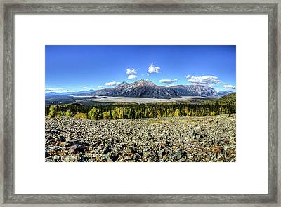 Sourdough Peak Framed Print