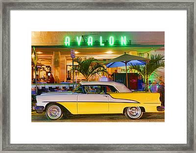 South Beach Classic Framed Print by Dennis Cox WorldViews