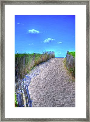 South Beach Framed Print by Kelly Wade