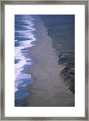 South Beach - Point Reyes National Seashore Framed Print