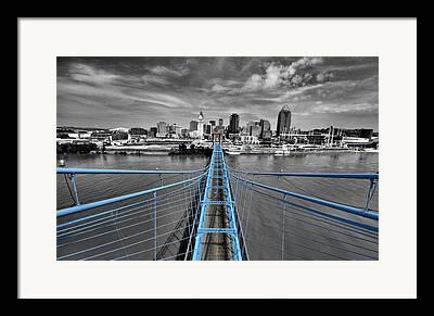 Cincinnati Framed Prints