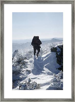 South Twin Mountain - White Mountains New Hampshire Framed Print by Erin Paul Donovan