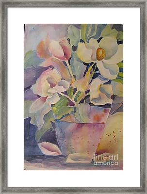 Southern Bell Framed Print by Linda Rupard