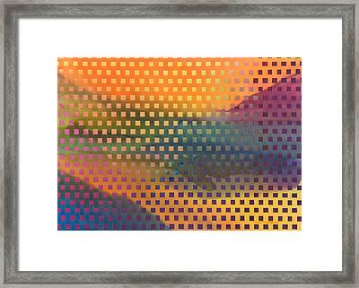 Southwest Landscapes Framed Print