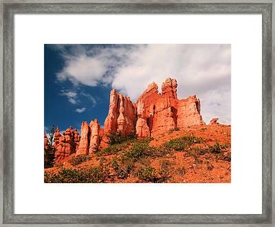Southwestern Landscape  Framed Print