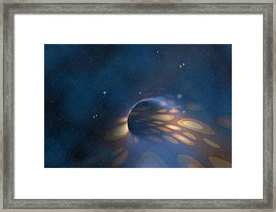 Space Abstract Framed Print by Carol and Mike Werner