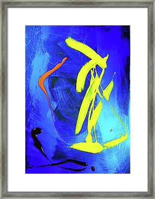 Framed Print featuring the photograph Space Dance by Elf Evans