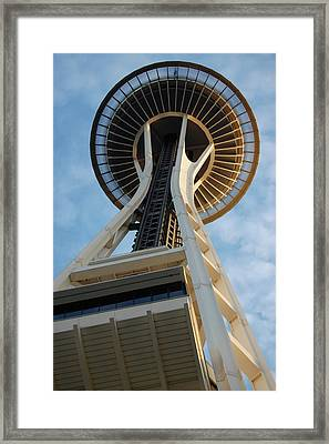 Space Needle Framed Print by Samantha Kimble