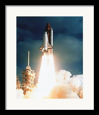 Nasa Space Shuttle Framed Prints
