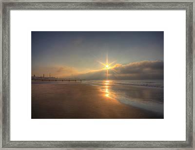 Sparkling Sunrise Framed Print