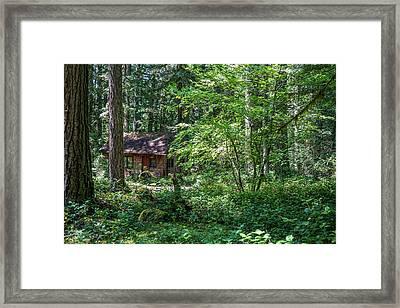 Sparsely Peppering The Landscape Framed Print