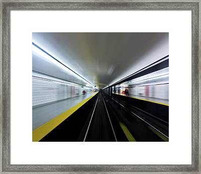 Framed Print featuring the photograph Speed 3 by Brian Carson