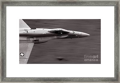 Speed Of Sound Framed Print