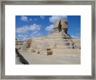 Sphinx Framed Print