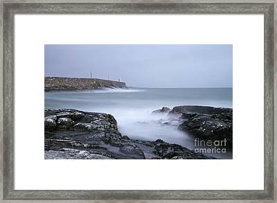 Spiddal Pier Framed Print
