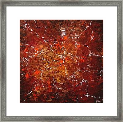 Spirit Dance Framed Print by Pat Purdy