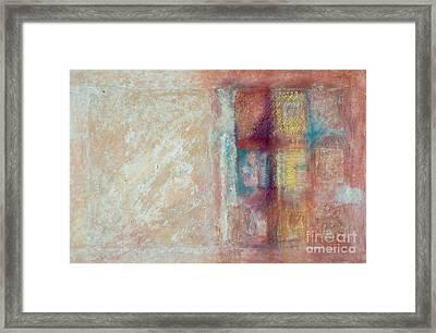 Spirit Matter Cosmos Framed Print