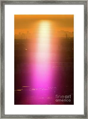 Framed Print featuring the photograph Spiritual Light by Tatsuya Atarashi