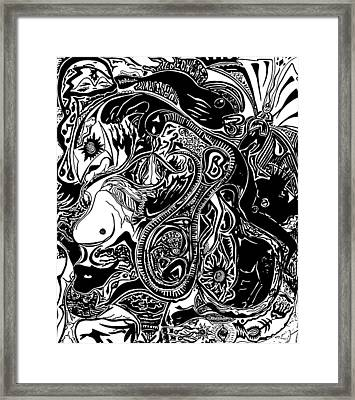 Spiritualbecoming Framed Print