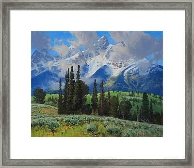 Spring Ascension Framed Print by Lanny Grant