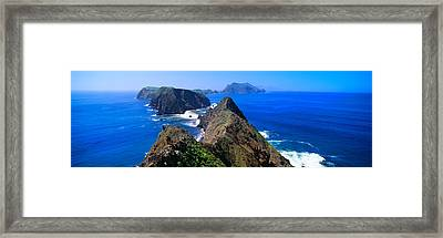 Spring At Anacapa Island, Channel Framed Print