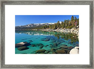 Spring Clarity Framed Print