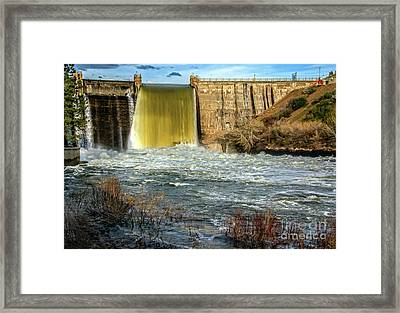 Framed Print featuring the photograph Spring Flow by Robert Bales