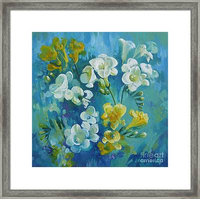 Spring Fragrances Framed Print