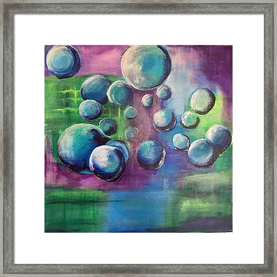 Framed Print featuring the painting Spring by Mary Rimmell