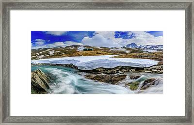 Framed Print featuring the photograph Spring Waters by Dmytro Korol