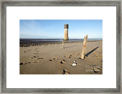 Spurn Head Framed Print by Nichola Denny