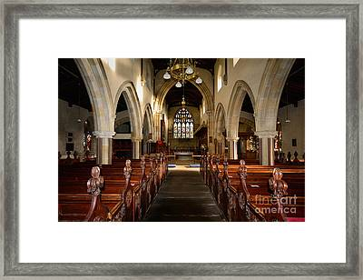St Andrews Church, Aysgarth Framed Print by Nichola Denny