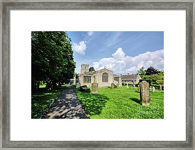St Andrews Church Framed Print by Nichola Denny