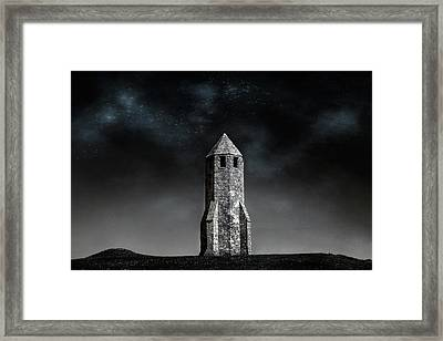 St. Catherine's Oratory -  Isle Of Wight Framed Print by Joana Kruse