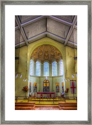St George In The East Church London Framed Print