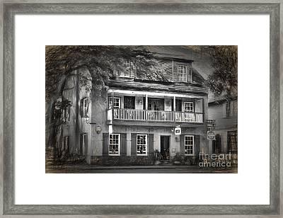 St George Inn Framed Print by C W Hooper