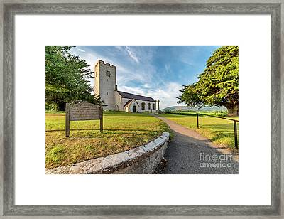 St Marcellas Church Framed Print by Adrian Evans