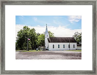 St. Margaret Catholic Church - Springfield Louisiana Framed Print