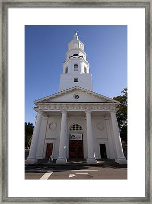 St Michaels Church Charleston Sc Framed Print