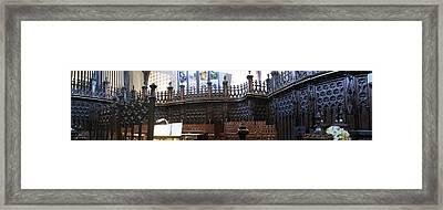 St Pauls Church Framed Print by Larry Simanzik