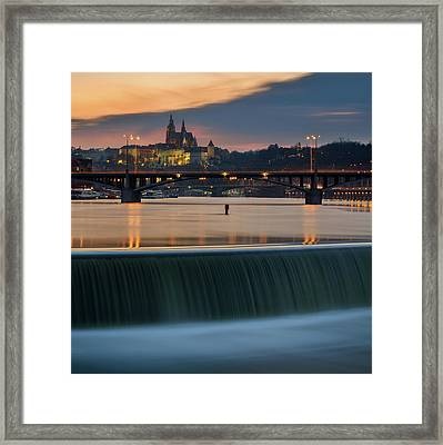 St. Vitus Cathedral, Prague, Czech Republic Framed Print
