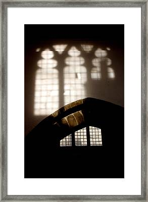 Stained Framed Print by Jez C Self