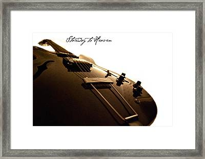 Stairway To Heaven Framed Print by Christopher Gaston