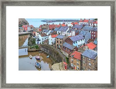 Staithes - England Framed Print by Joana Kruse