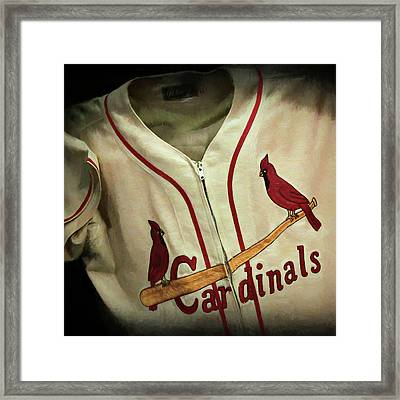 Stan Musial Framed Print by Stephen Stookey