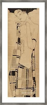 Standing Girl Framed Print