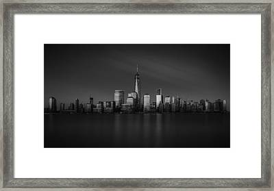 Standing Strong Framed Print by Eduard Moldoveanu