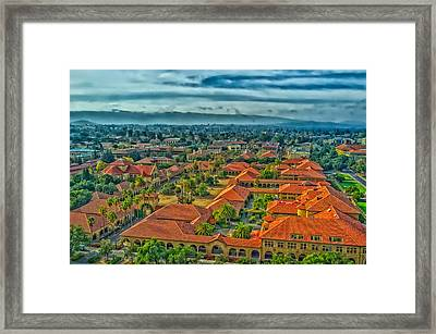 Stanford University Framed Print by Mountain Dreams