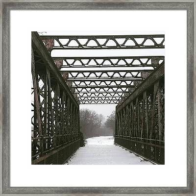 Stannals Bridge | March Framed Print