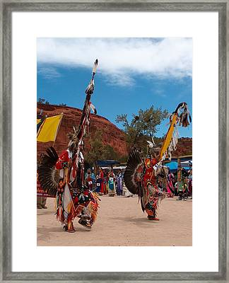 Star Feather Grand Entry Framed Print